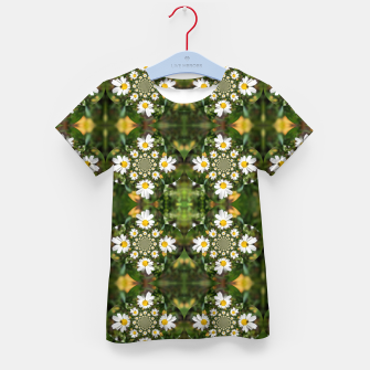 Miniature de image de Magic Field Summer Grass - Chamomile Flower with Bug - Polarity #1 Kid's t-shirt, Live Heroes
