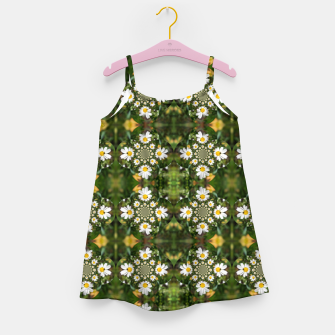 Miniature de image de Magic Field Summer Grass - Chamomile Flower with Bug - Polarity #1 Girl's dress, Live Heroes