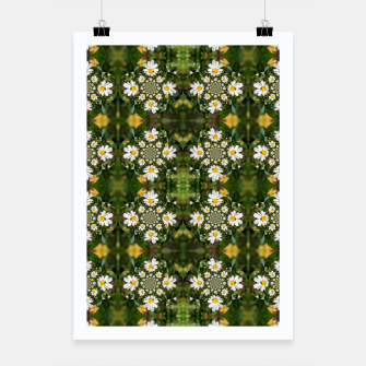 Miniature de image de Magic Field Summer Grass - Chamomile Flower with Bug - Polarity #1 Poster, Live Heroes