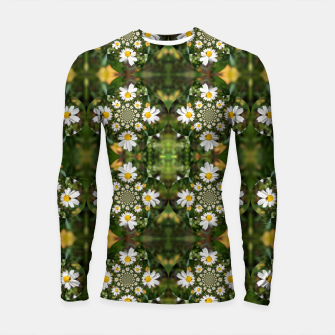 Miniature de image de Magic Field Summer Grass - Chamomile Flower with Bug - Polarity #1 Longsleeve rashguard , Live Heroes