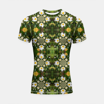 Miniature de image de Magic Field Summer Grass - Chamomile Flower with Bug - Polarity #1 Shortsleeve rashguard, Live Heroes