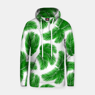 Thumbnail image of Tropical palm Hoodie, Live Heroes