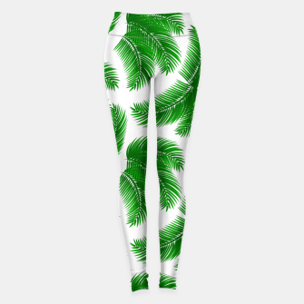 Miniaturka Tropical palm Leggings, Live Heroes