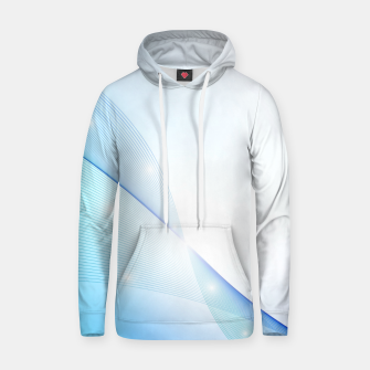 Thumbnail image of Abstract blue wave Hoodie, Live Heroes