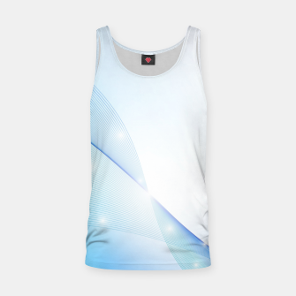 Thumbnail image of Abstract blue wave Tank Top, Live Heroes