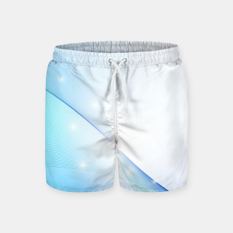 Thumbnail image of Abstract blue wave Swim Shorts, Live Heroes