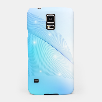 Thumbnail image of Abstract blue wave Samsung Case, Live Heroes
