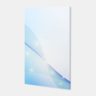 Thumbnail image of Abstract blue wave Canvas, Live Heroes