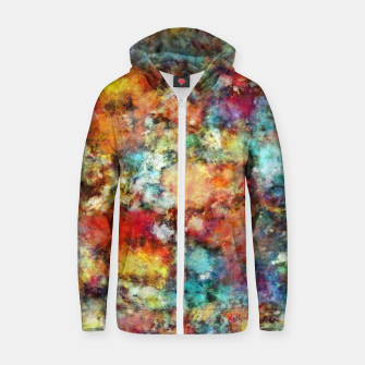 Thumbnail image of Simmer Zip up hoodie, Live Heroes