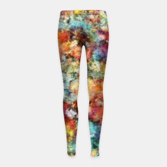 Thumbnail image of Simmer Girl's leggings, Live Heroes