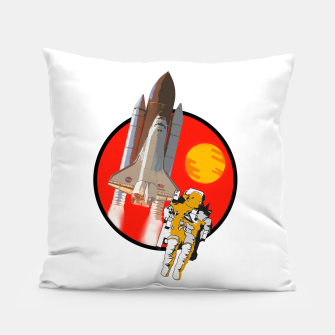 Thumbnail image of Rosette Pillow, Live Heroes