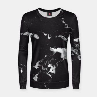 Miniaturka Black Marble #3 #decor #art  Frauen sweatshirt, Live Heroes