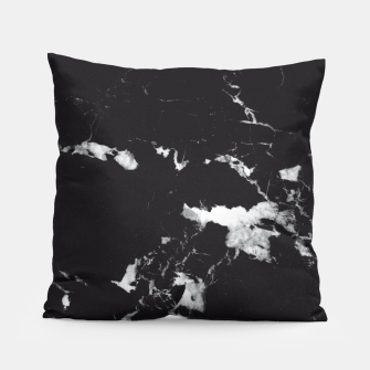 Thumbnail image of Black Marble #3 #decor #art  Kissen, Live Heroes