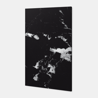 Thumbnail image of Black Marble #3 #decor #art  Canvas, Live Heroes
