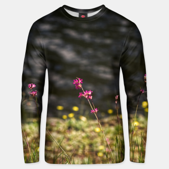 By the river Unisex sweater thumbnail image