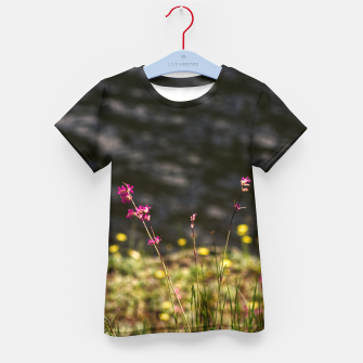 By the river Kid's t-shirt thumbnail image