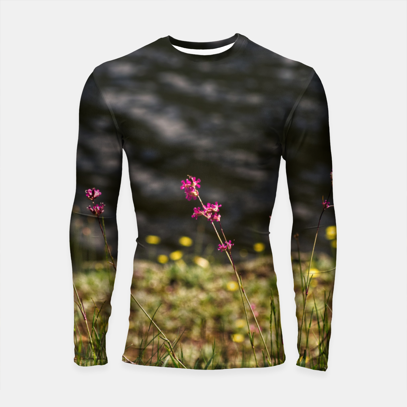 Image of By the river Longsleeve rashguard  - Live Heroes