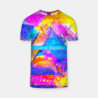 Thumbnail image of Splash Colours On Me Daddy T-shirt, Live Heroes