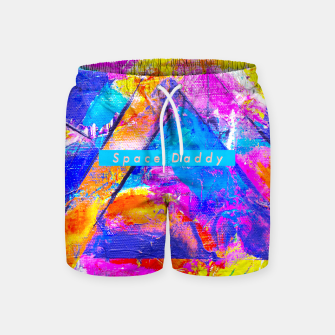Thumbnail image of Splash Colours On Me Daddy Swim Shorts, Live Heroes