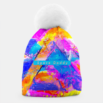 Thumbnail image of Splash Colours On Me Daddy Beanie, Live Heroes