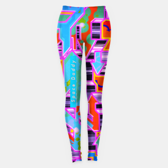 Thumbnail image of Ziizzle down daddy Leggings, Live Heroes