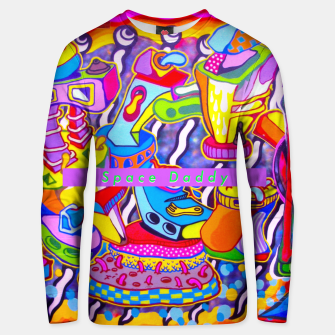 Thumbnail image of Splingle daddy Unisex sweater, Live Heroes