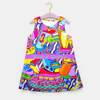 Thumbnail image of Splingle daddy Girl's summer dress, Live Heroes