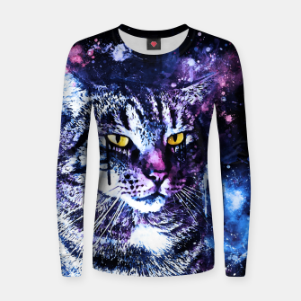 Thumbnail image of koko the cat wslbb Women sweater, Live Heroes