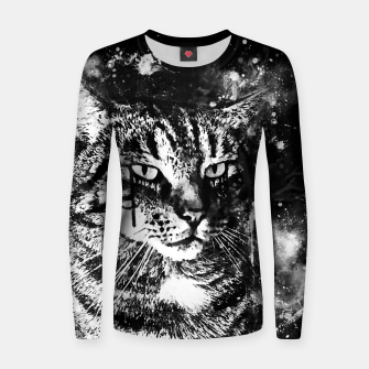 Thumbnail image of koko the cat wsbw Women sweater, Live Heroes