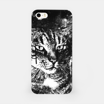 Thumbnail image of koko the cat wsbw iPhone Case, Live Heroes