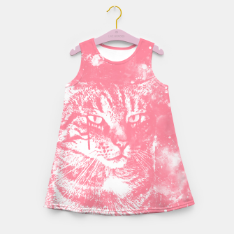 Miniatur koko the cat wspw Girl's summer dress, Live Heroes