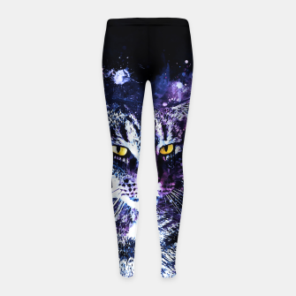 Imagen en miniatura de koko the cat wslbb Girl's leggings, Live Heroes