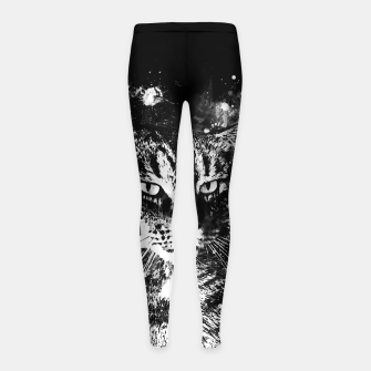 Imagen en miniatura de koko the cat wsbw Girl's leggings, Live Heroes