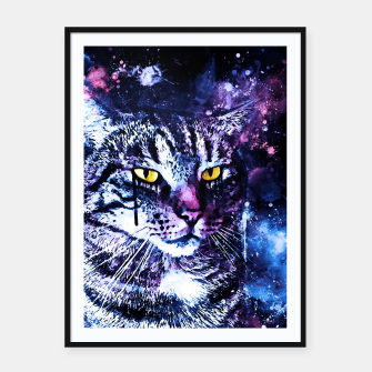 Miniatur koko the cat wslbb Framed poster, Live Heroes