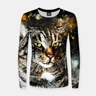 Thumbnail image of koko the cat wsstd Women sweater, Live Heroes