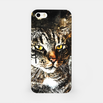 Thumbnail image of koko the cat wsstd iPhone Case, Live Heroes
