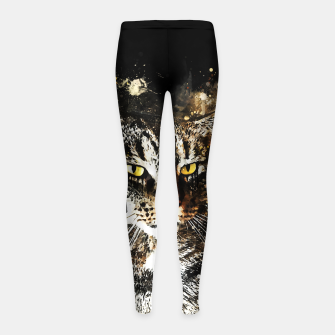Imagen en miniatura de koko the cat wsstd Girl's leggings, Live Heroes