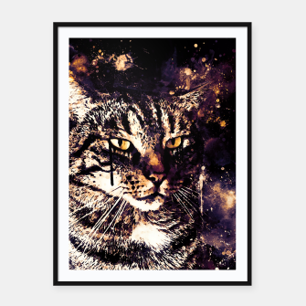 Miniatur koko the cat wsls Framed poster, Live Heroes