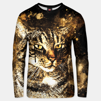 koko the cat wssepia Unisex sweater thumbnail image
