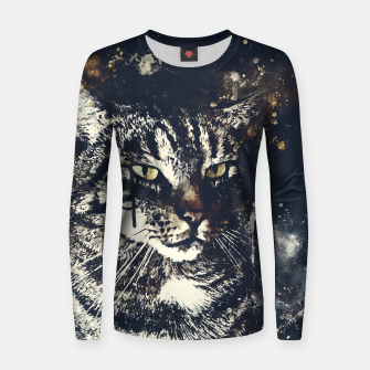 Thumbnail image of koko the cat wsfn Women sweater, Live Heroes