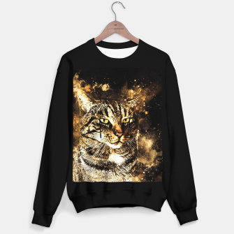 koko the cat wssepia Sweater regular thumbnail image