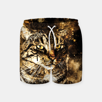 koko the cat wssepia Swim Shorts thumbnail image
