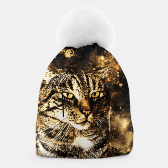 koko the cat wssepia Beanie thumbnail image