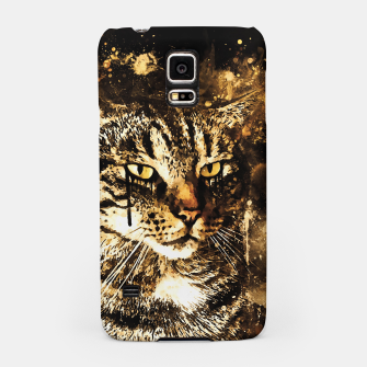 koko the cat wssepia Samsung Case thumbnail image
