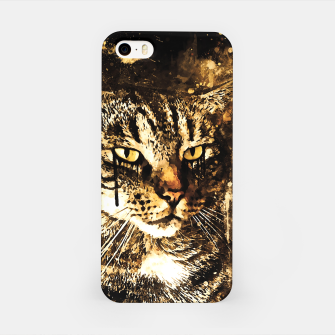 koko the cat wssepia iPhone Case thumbnail image