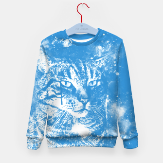 koko the cat wswb Kid's sweater thumbnail image