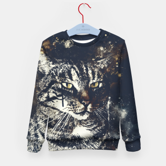 koko the cat wsfn Kid's sweater thumbnail image