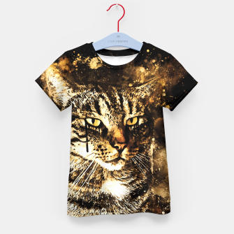 Thumbnail image of koko the cat wssepia Kid's t-shirt, Live Heroes