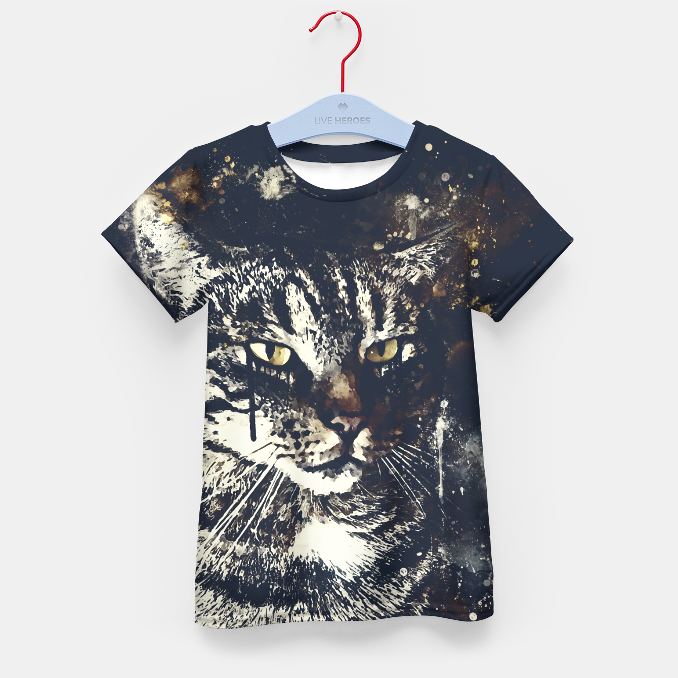 Image of koko the cat wsfn Kid's t-shirt - Live Heroes