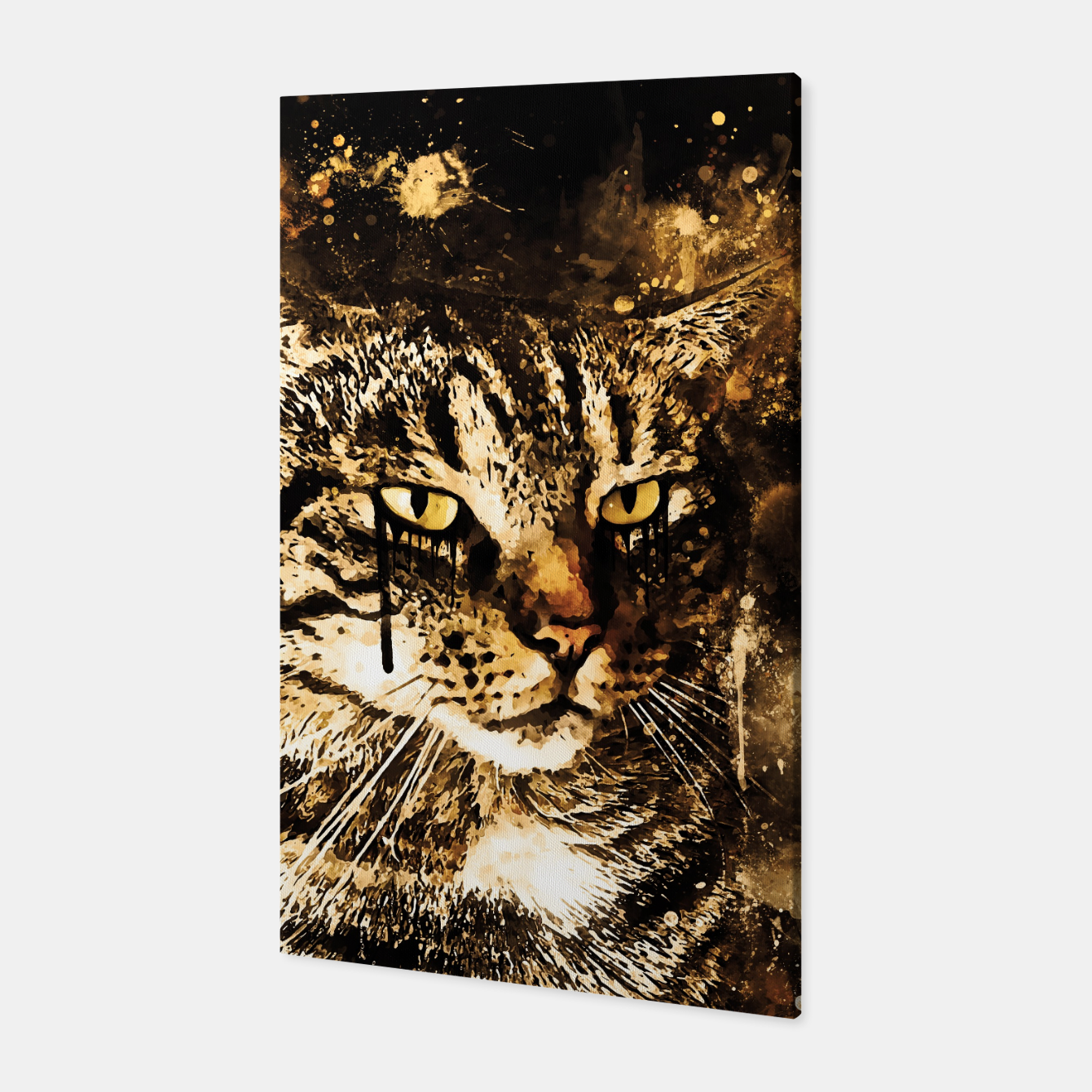 Image of koko the cat wssepia Canvas - Live Heroes